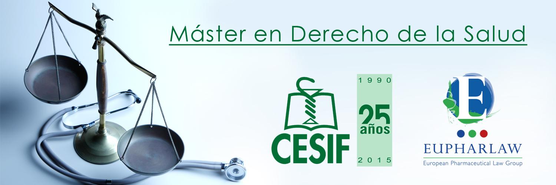 Máster en Derecho de la Salud CESIF - Eupharlaw