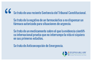"""La anticoncepción de emergencia y el """"fallo"""" del Tribunal Constitucional"""