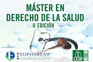 En noviembre comienza la 2ª Edición del Máster de Derecho de la Salud