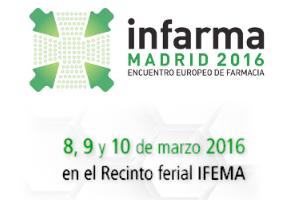 Infarma 2016: encuentro europeo de farmacia en Madrid