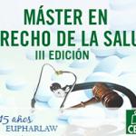 Cuenta atrás para la 3ª edición del Máster en Derecho de la Salud