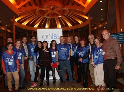 Equipo voluntarios Congreso ANIS 2016