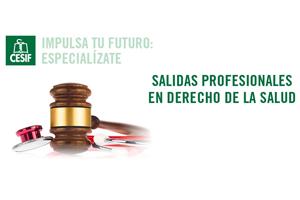 Salidas profesionales en el ámbito del Derecho de la Salud