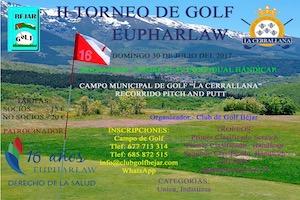 II Torneo de Golf Eupharlaw