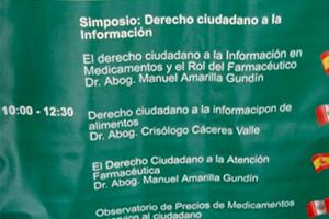 La información terapéutica como herramienta esencial de la Atención Farmacéutica presente en la FEFAS