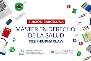 Todo listo para el inicio del Máster de Derecho de la Salud CESIF-EUPHARLAW en Barcelona