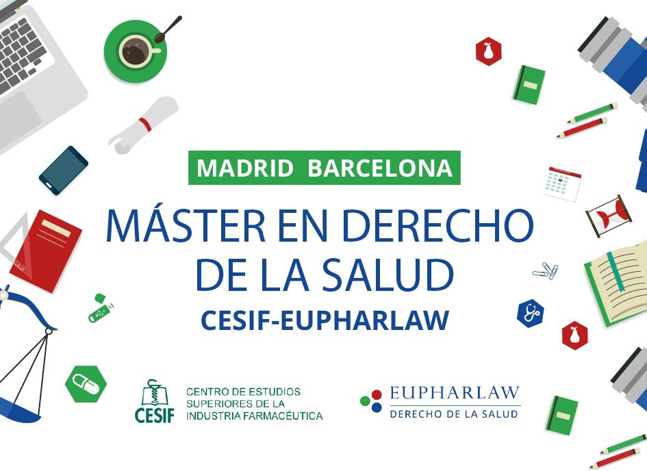 ¡Y van cinco! Abierta la  inscripción para el Master en Derecho de la Salud en Madrid y Barcelona