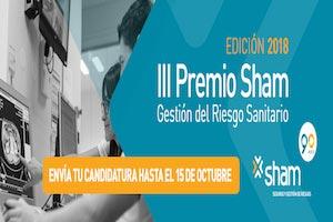 III Premio Sham de Gestión del Riesgo Sanitario