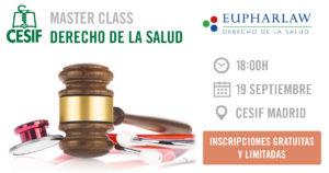 Máster en #DerechodelaSalud 2018/19 CESIF-EUPHARLAW
