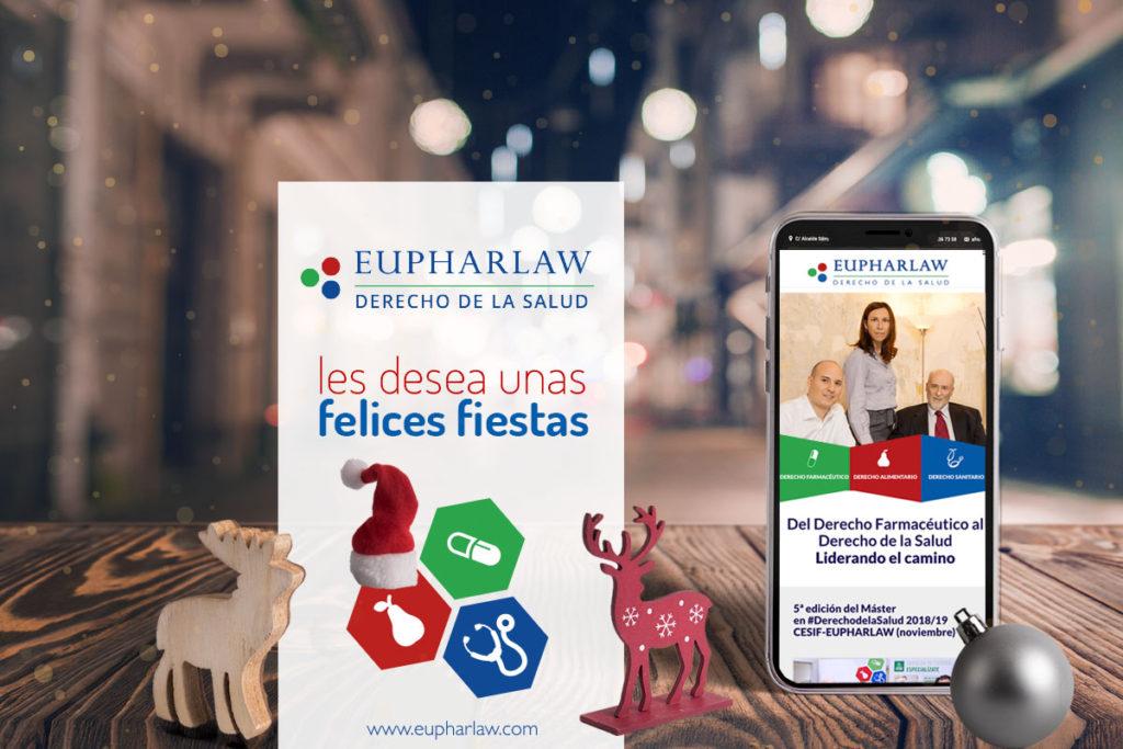 Eupharlaw os desea felices fiestas y próspero año nuevo
