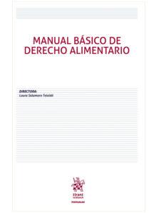 Manual básico de Derecho alimentario